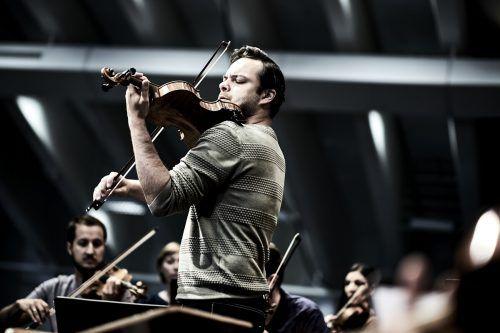 Dalibor Karvay, Konzertmeister der Wiener Symphoniker, in Lech. Lech classic/flasaar
