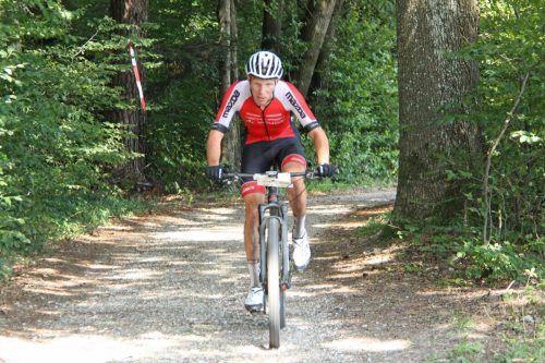 Daniel Geismayr fuhr solo auf den zweiten Platz der vierten Etappe bei Swiss Epic.vn