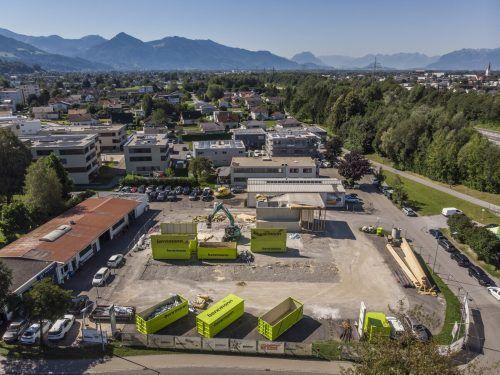 Das Areal des ehemaligen Autohauses ist insgesamt 5000 Quadratmeter groß.vn/Paulitsch
