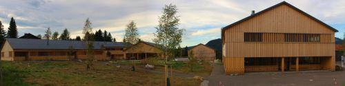 "Das ""Fuchsegg Lodge Resort"" soll im Laufe des Oktobers fertiggestellt werden.STP"