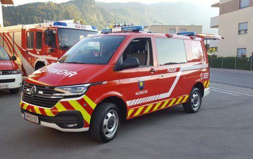 Das neue Einsatzfahrzeug der Feuerwehr Nüziders konnte vor Kurzem in Dienst gestellt werden. GEmeinde