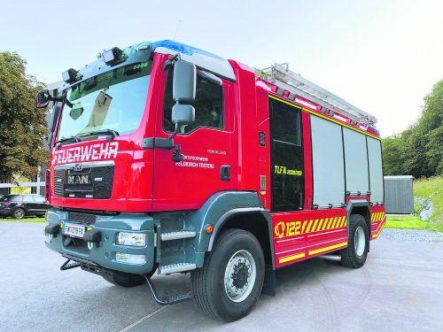 Der neue Tanklöscher befindet sich seit August in Besitz und in Verwendung der Tostner Feuerwehr.