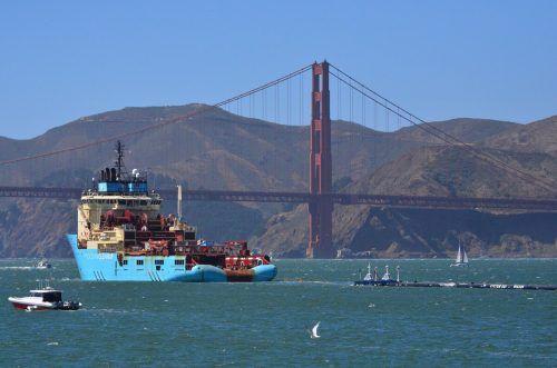 """Das Projekt """"Ocean Cleanup"""" wird leider das Plastikproblem nicht lösen. AP"""