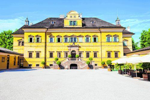 Das Schloss Hellbrunn sollte man sich nicht entgehen lassen.