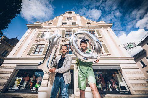 """Das schönste Kompliment für Giovanni Vitale und Wolfgang Herzog: """"Wenn Kunden sagen, dass bei uns Großstadtflair herrscht. Das streichelt die Seele."""" ManuelPaul"""