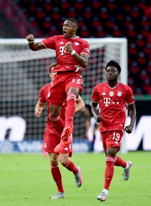 David Alaba hat noch kein Spiel gegen Barcelona verloren. Österreichs Superstar bei Bayern München geht voller Selbstvertrauen ins Duell mit Lionel Messi und Co.reut
