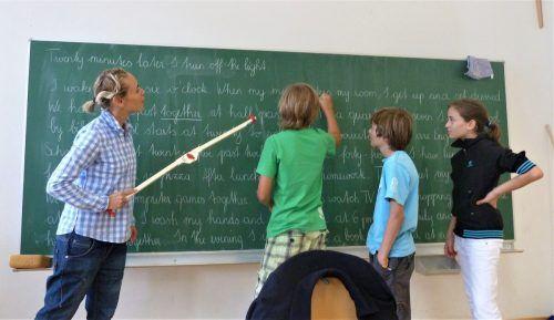Der Ansturm auf die von der Volkshochschule Bludenz organisierte Sommerschule ist heuer so groß wie nie zuvor. VHS Bludenz