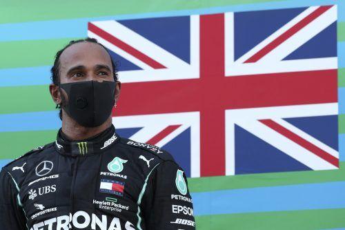 """Der Brite Lewis Hamilton bewies in der Hitze von Spanien einmal mehr """"Coolness"""" und landete seinen 88. Sieg in der Formel 1.Reuters"""