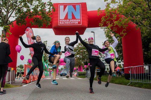 Der diesjährige Bodensee-Frauenlauf wird zwar ein bisschen anders, aber mit Sicherheit nicht weniger unterhaltsam.vn/steurer