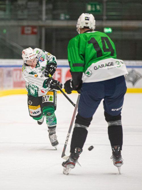 Der ECB zeigte gegen die Ticino Rockets phasenweise gutes Eishockey.Sams
