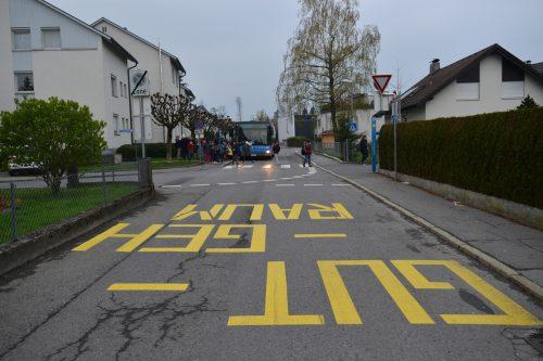 """Der """"Gut-Geh-Raum"""" bei der Schule Bregenz Schendlingen ist ein Paradebeispiel.a. Serra"""