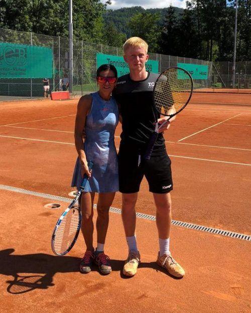 Der Harder Tobias Fürschuss siegte im Einzel- und mit Birgit Mayer im Mixed-Bewerb.