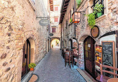 Der Ort Torri del Benaco ist heute noch sehr ursprünglich.
