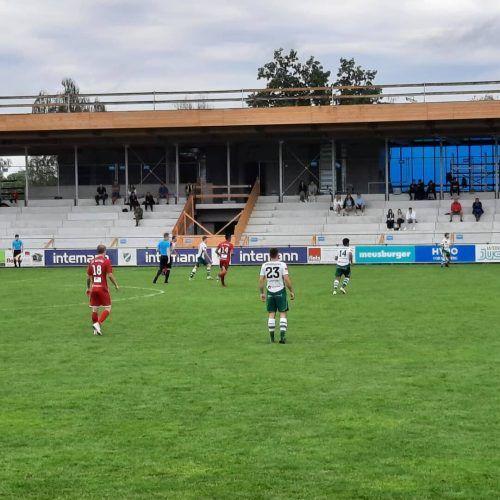 Der SV Satteins holte in Lauterach einen verdienten Punkt.SV Satteins/ Koschat