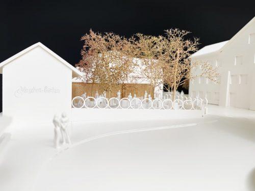 Der traditionsreiche Gastgarten soll schon bald in neuem Glanz erstrahlen. Die Pläne wurden von Architekt Stefan Moosmann bereits ausgearbeitet.Moosmann