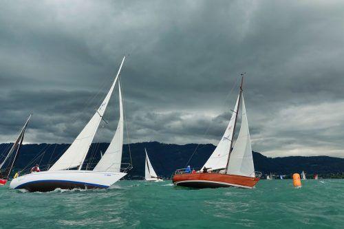 Der Wind war beherrschendes Thema, es herrschten zwischen drei und fünf Windstärken.Ulrich Herburger