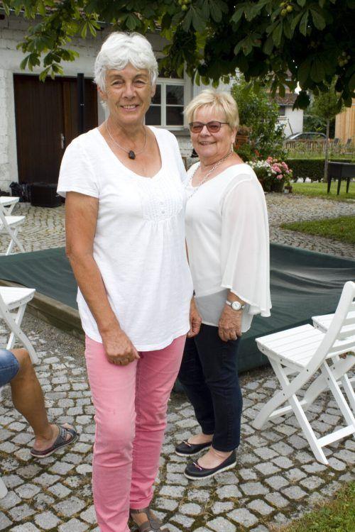 Dialektsicher: Isolde Gmeiner (l.) und Gerhild Bösch.