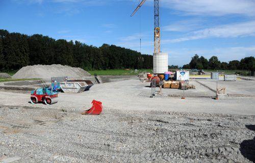 Die Arbeiten zum Aussiedlerhof Fink an der Nollenstraße wurden bereits gestartet.