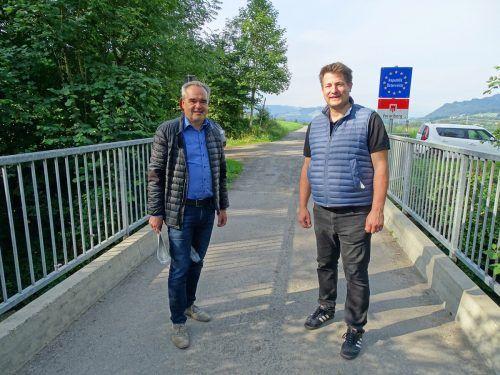 Die BürgermeisterHelmut Blank und Tobias Paintner (Weiler-Simmerberg).