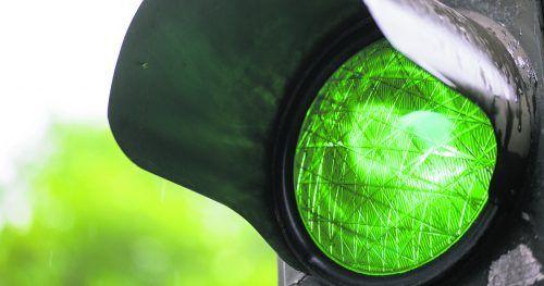 Die gute Nachricht in der jetzigen Coronasituation: Derzeit steht das Signal in allen Bezirken des Landes auf Grün.Adobestock