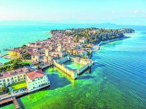 Die Halbinsel im Süden vom Gardasee ist der perfekte Ort für Romantiker.