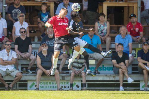 Die Heimpremiere in der VN.at-Eliteliga des FC Rotenberg haben sich Spieler und Fans wohl anders vorgestellt. Am Ende ging Bregenz als verdienter Sieger vom Feld.Sams
