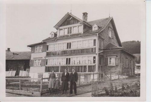 Die jüdische Familie Iger hat die Flucht aus Bludenz geschafft.