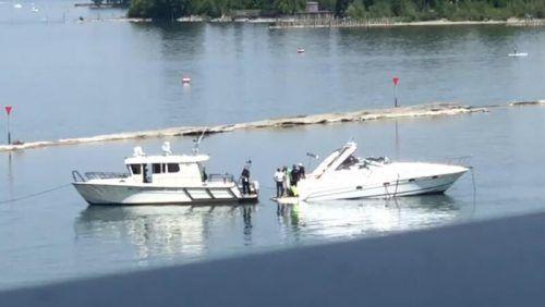 Die Kantonspolizei St. Gallen stellte das Motorboot sicher. Leserreporter
