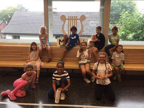 Die Kinder konnten im Rahmen der Ferienerlebnistage in die Welt der Mini Stars und Young Stars eintauchen. MV Fußach