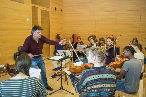 Die Konzerte unter Christoph Eberle finden vom 9. bis 13. September statt. VN/RP