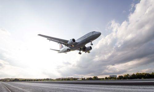 Die Lufthansa startet wieder vom Bodensee-Airport.fdh