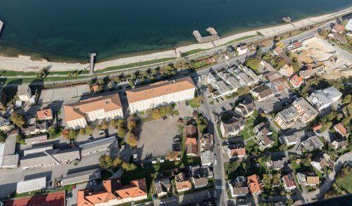 Der alte Rossstall sei das einzige baufällige Gebäudeauf dem Areal der Bregenzer Bilgeri-Kaserne.Land
