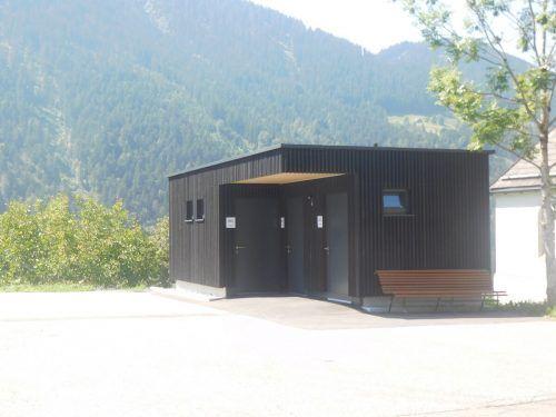 Die öffentliche WC-Anlage ist seit Kurzem in Betrieb. Mäser