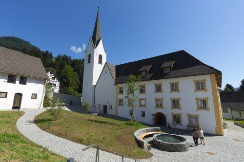 Die Propstei St. Gerold im Großen Walsertal ist ein Ort der Begegnung und Besinnung und lädt nach dem Pilgern auch zum Innehalten ein.VN/Paulitsch