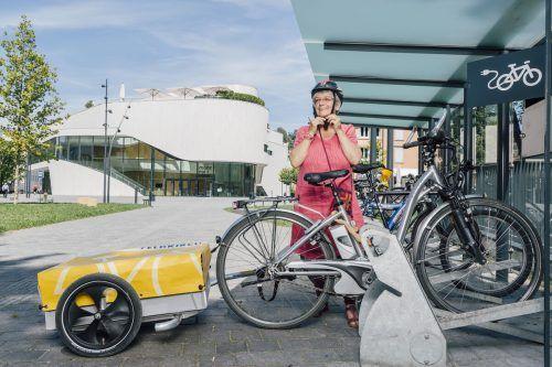 Die Stadt Feldkirch will den Radverkehr als umweltfreundliche Mobilität weiter fördern.L.Mathis