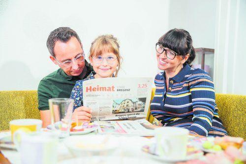 Die VN führen ihre Leserfamilie mit den wichtigen Themen durch den Alltag. Sams