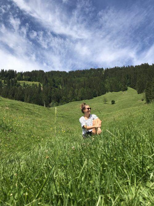 Die Zeit in Vorarlberg nutzte Naturliebhaberin Sabrina Horvat für ausgedehnte Ausflüge in die Berge.Horvat