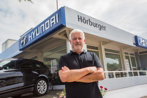 Dietmar Hörburger agiert nun als freier Händler. Für die Kunden ändert sich aber dadurch nichts. vn/Steurer