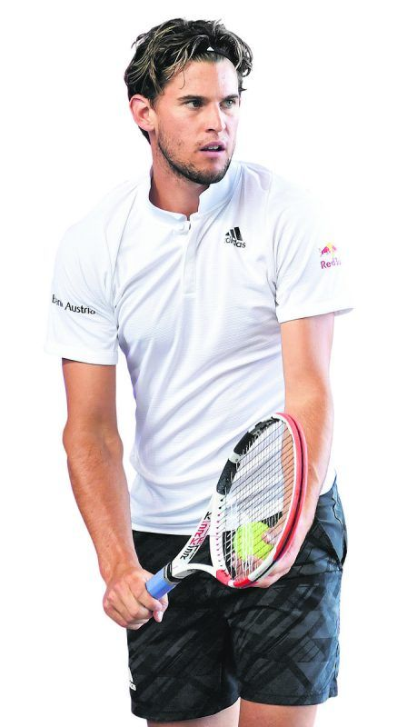 Dominic Thiem hat viel vor bei den US Open, will Novak Djokovic ärgern.gepa