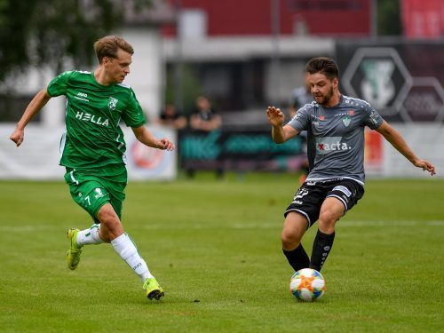 Dornbirner SV gegen Vorderwald: In den letzten Jahren war diese Paarung immer ein Garant für offensives Spektakel.Stiplovsek