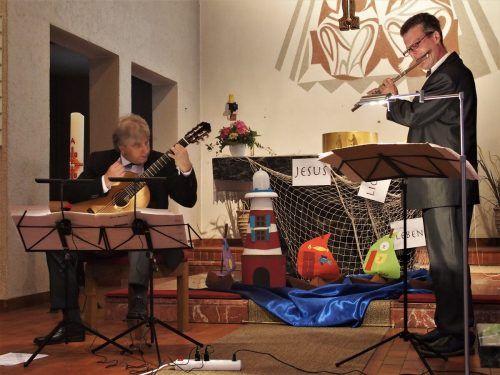 """Duo """"Flutar"""" mit Gerhard Ganahl und Martin Vallaster. jurmann"""