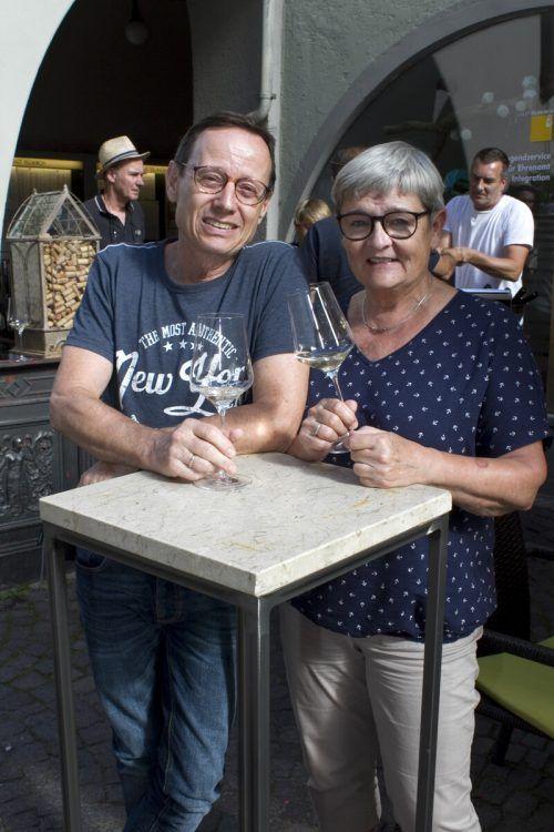 Ebenso unter den Gäsen: Klaus und Petra Kager.