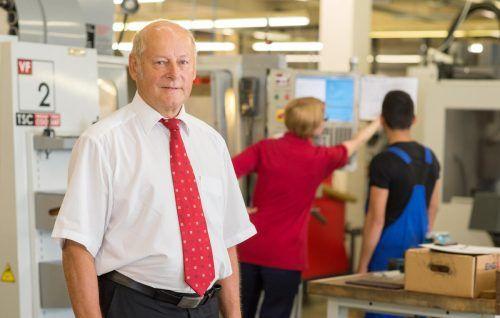 Egon Blum fordert für jeden Jugendlichen, der eine Lehrstelle sucht, eine Ausbildungsmöglichkeit und hat dafür Vorschläge ausgearbeitet. VN/Stiplovsek
