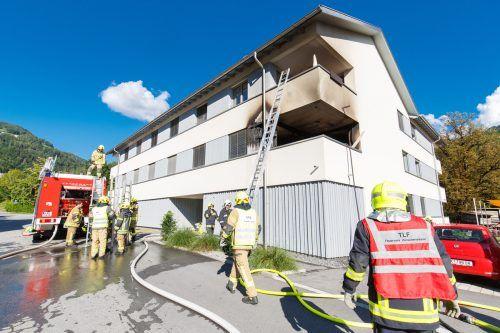 Ein Zigarettenstummel könnte der Auslöser für den Brand auf dem Balkon gewesen sein. HOFMEISTER