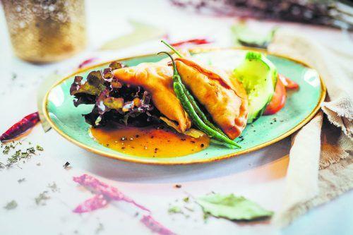 Eine kulinarische Reise nach Indien: Samosas werden dort in allen Varianten gerne gegessen.VN/Frederick Sams