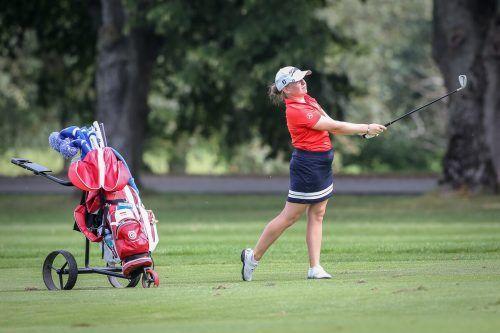 Einen Tag spielte Janika Rüttiman bei den Amateur-Golfmeisterschaften in Linz unkonstant, das kostete die Montafonerin einen Podestplatz.gepa