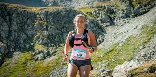 Elisa Walch ist für einen schnellen Auftritt am Berg gerüstet.veranstalter