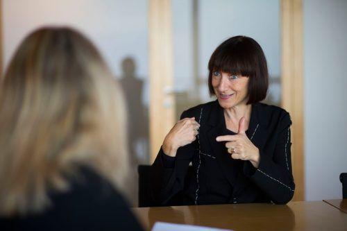 """Elisabeth Sobotka: """"Es war ein sehr kreativer Prozess, der uns zu ,Impresario Dotcom' geführt hat."""" VN/Paulitsch"""