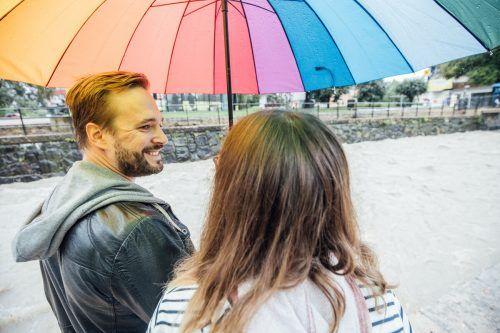 Frank und Kathi trotzten dem Regen.