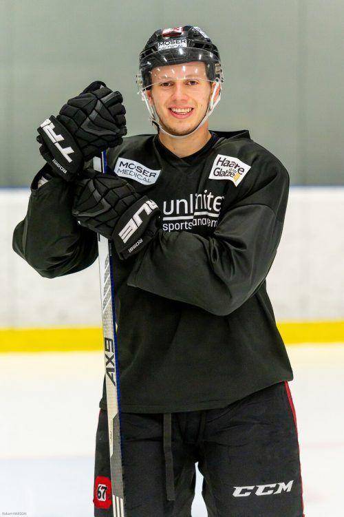 Für eine Woche wird Marco Rossi in Klagenfurt trainieren.Harson